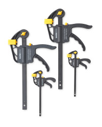Mixed Ratcheting Bar Clamps 4-Pack