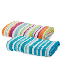 Mixed Stripe Bath Towel