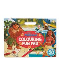Moana Colouring Fun Pad