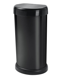 Moda Black 42L Touch Bin
