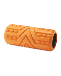 Crane Arrow Grooved Foam Roller - Orange
