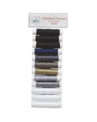So Crafty Monochrome Threads 12 Pack