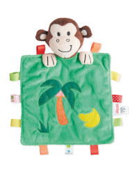 Nuby Monkey Cuddle Comforter