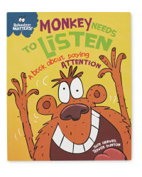 Monkey Needs To Listen Book