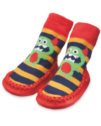 Lily & Dan Monster Slipper Socks