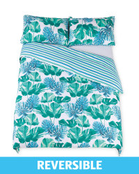Monstera Leaf King Duvet Set