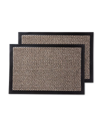 Moscow Utility Mats 2-Pack - Beige