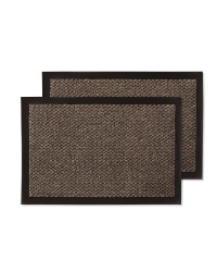 Moscow Utility Mats 2-Pack - Brown