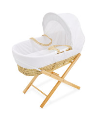Rabbit Moses Basket With Stand