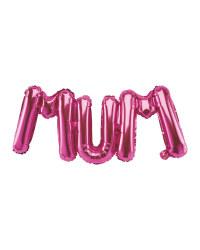 Mother's Day Script Foil Balloon