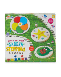 Mould & Paint Garden Stepping Stones