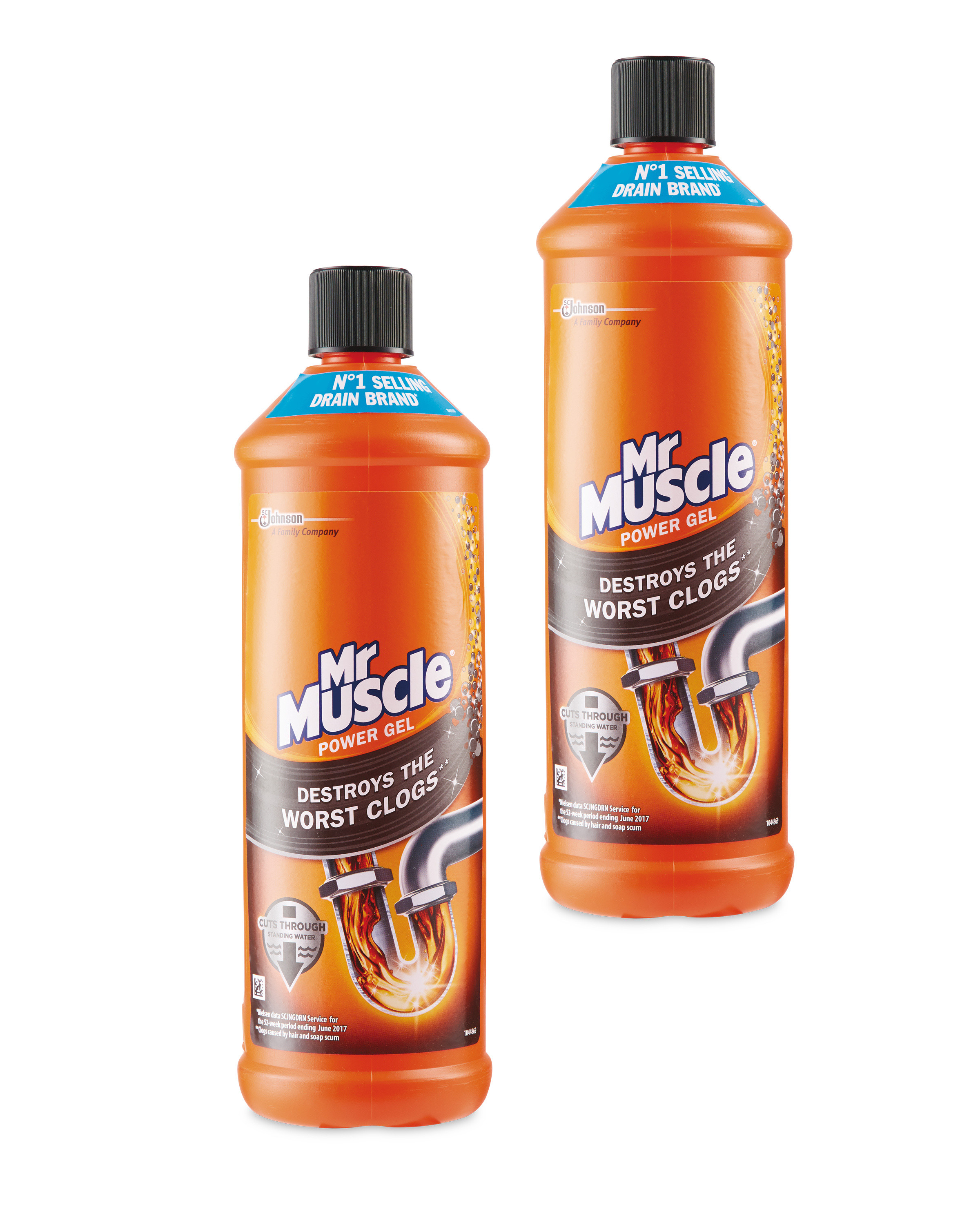Mr Muscle MaxGel Unblocker 2 Pack