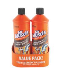 Mr Muscle Sink & Drain Gel 2 Pack