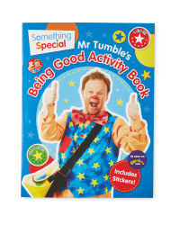 Mr Tumble's Being Good Sticker Book