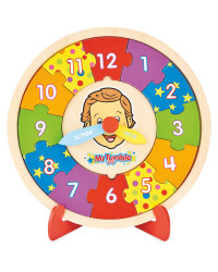 Mr Tumble Puzzle Clock
