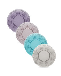 Cake Plates 4 Pack - Multi Coloured
