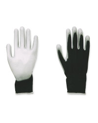Multi-Purpose Gloves Twin Pack - Black / Grey