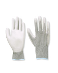 Multi-Purpose Gloves Twin Pack - Grey
