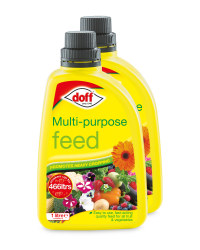 Multi-Purpose Plant Feed 2 Pack