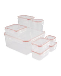 Kirkton House Multi Storage 8 Pack - Red