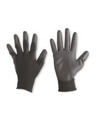 Multi-Purpose Work Gloves 2 Pack - Anthracite