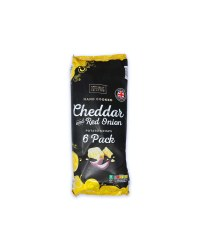 Multipack Cheddar & Red Onion Crisps