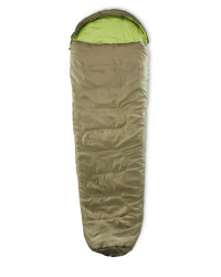 Mummy Sleeping Bag Left Zip - Olive