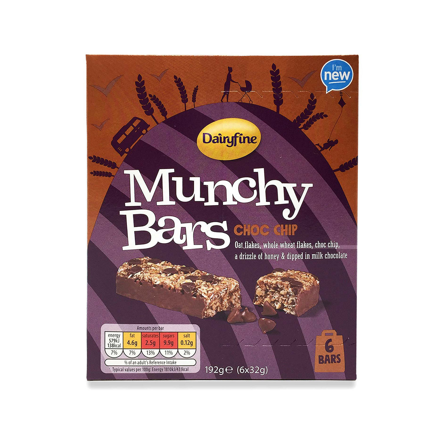 Munchy Bar Choc Chip