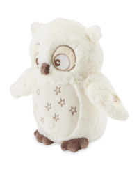 Little Town Musical Owl Plush Toy