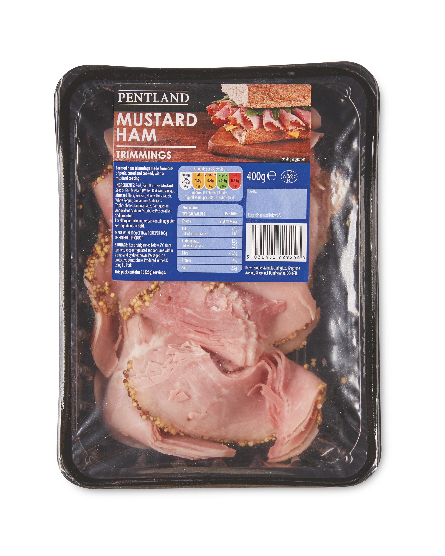 Mustard Ham Trimmings