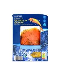 Mustard&Dill Flavoured Smoked Salmon
