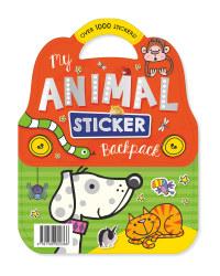 My Animal Sticker Carry Pack