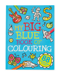 My Big Blue Book of Colouring