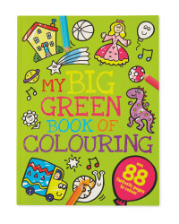 My Big Green Book of Colouring