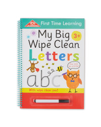 My Big Wipe Clean Letters  Book