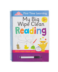 My Big Wipe Clean Reading  Book
