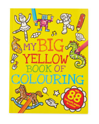 My Big Yellow Book of Colouring
