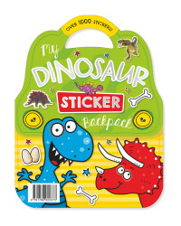 My Dinosaur Sticker Carry Pack