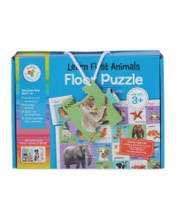 My First Animals Floor Puzzle