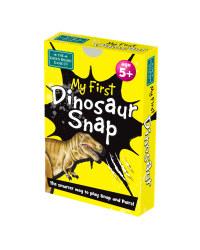 My First Dinosaur Snap Card Game