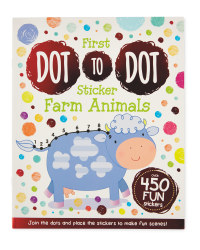 My First Dot-to-Dot Farm Animals