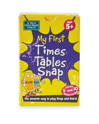 My First Times Tables Snap Cards