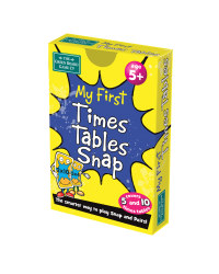 My First Times Tables Snap Card Game