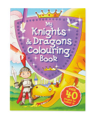 My Knights & Dragons Colouring Book