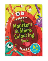 My Monster & Alien Colouring Book