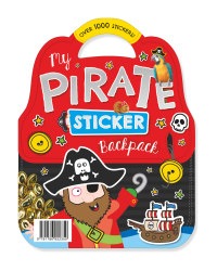 My Pirate Sticker Carry Pack