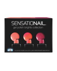 SensatioNail Bright Colours 3 Pack