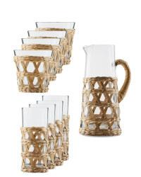 Natural Drinkware Set