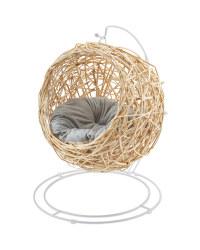 Natural Rattan Cat Egg Chair