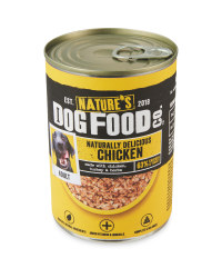 Nature's Dog Food Can Chicken